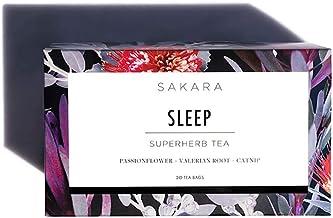 Sponsored Ad - Sakara Superherb Herbal Tea for Sleep and Relaxation 20pk