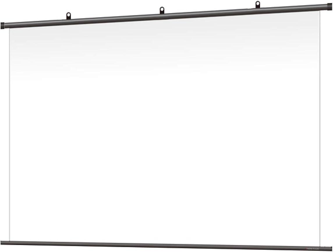 シアターハウス プロジェクター スクリーン 掛け軸タイプ (16:9) スタンダードマット (120インチ) 日本製 BTP2660WSD