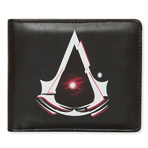 Ubisoft - Assassins Creed - Geldbörse - Offizielles Merchandise - Schwarzes Kunstleder mit Logo