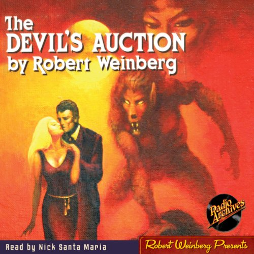 The Devil's Auction audiobook cover art
