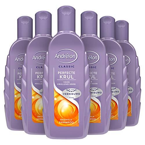 Andrélon Classic Perfecte Krul Shampoo voor krullend haar - 6 x 300ML - Voordeelverpakking