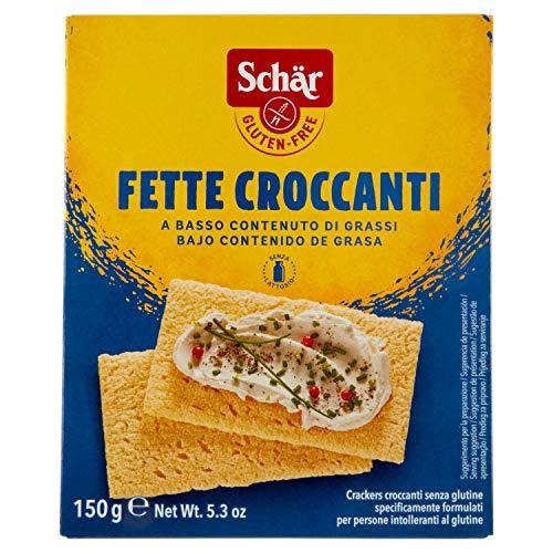 SCHAR Pieczywo chrupkie bezglutenowe Fette croccanti (150g)