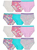 Fruit of the Loom Toddler Girls' Tag-Free Cotton Underwear, Brief-12 Pack-Assorted Colors, 2T-3T