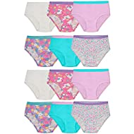 Fruit of the Loom Toddler Girls' Tag-Free Cotton Underwear
