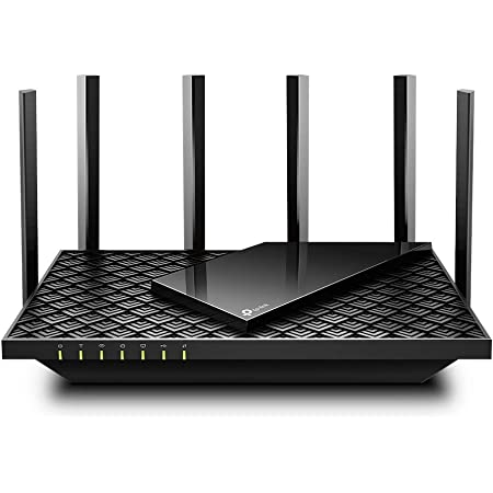 TP-Link WiFi Wi-Fi6 無線LAN ルーター デュアルバンド 4804 Mbps (5 GHz) + 574 Mbps (2.4 GHz) ルーター OneMesh対応 Archer AX73/A