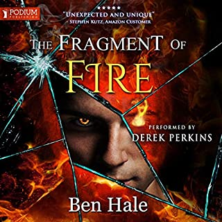 The Fragment of Fire audiobook cover art