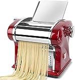 Maker pasta in acciaio inox 220V elettrico tagliatella macchina da stampa spaghetti pasta maker taglierina commerciale dumplings kitchen gadget regalo
