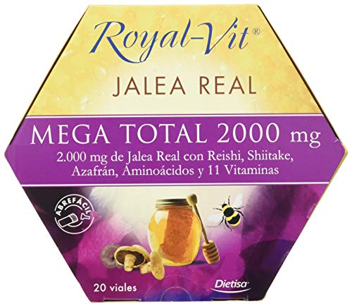 Royal-Vit Jalea Real - Mega Total 2.000 - 20 viales