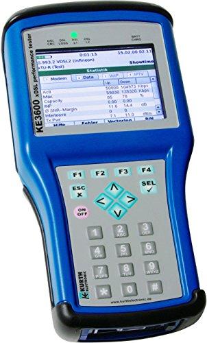 Kurth Electronic xDSL MultiTest Set KE3600ADSL/VDSL/ISDN xDSL/Telefonie Paket Mess-/Testgerät für Kommunikationstechnik 4260245850174