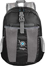 bago 25L Packable Lightweight Backpack - Water Resistant Travel and Hiking Daypack (25-Liter, Black)