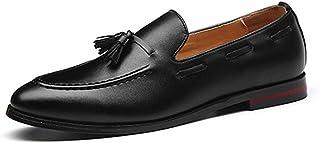 Mocasines para los Hombres de Negocios de Moda Borla Zapatos de conducción
