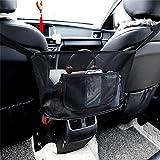 MOEGFY Auto Netztasche Handtaschenhalter, Mehrzweck Aufbewahrungstasche Haustier Kinder Barriere zwischen Autositzen für Handtaschen/Dokumente/Geldbörsen/Snacks/Handys/Getränke