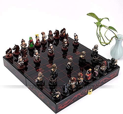 Ajedrez para tablero harry potter juegos Juego de ajedrez Juegos de ajedrez chino Chess Chess Resin Folding Chessman Navidad Cumpleaños Premium regalos de entretenimiento Junta de juego Juego de mesa