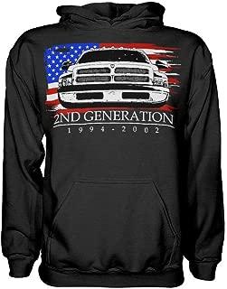 2nd Generation Dodge Ram 1994-2002 Hoodie Sweatshirt
