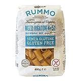 Rummo Mezzi Rigatoni N ° 51   Italian Gluten Free Pasta   14 Ounce