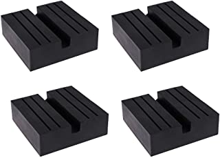 Adaptador de trilho antiderrapante para carro GoolRC Jack Rubber Pad (4 unidades) universal para carro quadrado preto adap...