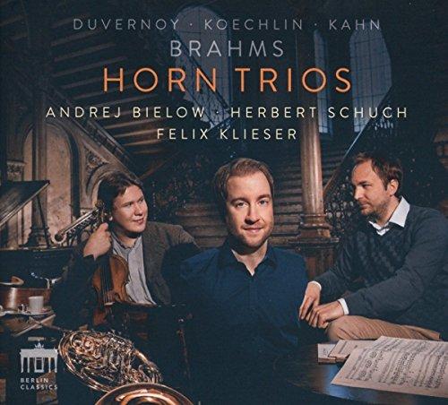 Brahms/Koechlin/Duvernoy/Kahn:Horn Trios