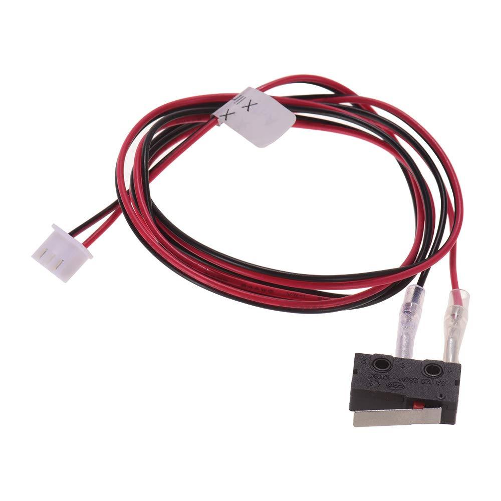 Piezas de la impresora Anet 3D Interruptor de fin de carrera Interruptores de final de carrera Limitadores Control de enchufes con cable 24AWG Interruptor de 2 pines Interruptor para impresora de