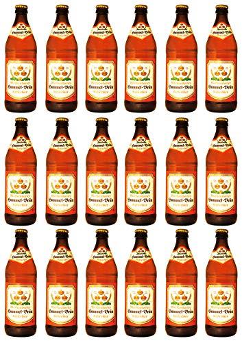 Brauerei Hummel - Kellerbier (18 Flaschen) I Bierpaket von Bierwohl