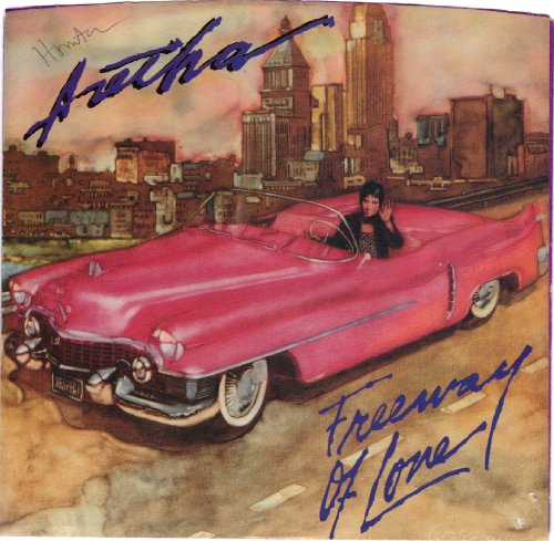 FRANKLIN, Aretha / Freeway Of Love / 45rpm record + picture sleeve