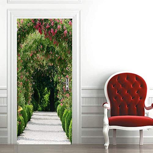 Pared Puerta 3D Pegatinas Papel Woodland Creativity
