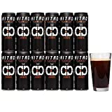 Nitro Cold Brew Coffee, Sugar Free, Keto, Paleo Certified, No Refrigeration Required, South American Single Origin, Low Acidity, Tall 11.5 oz Cans, 12 Pack