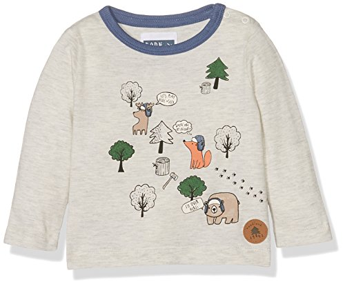 Mothercare Woodland T-Shirt, Grigio, 9 Mesi Bimbo