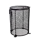 POPETPOP Reptile Chaleur Mesh Cage Protecteur Garde Lampe Ampoule clôture Ronde Terrarium lumière Maille Couverture pour araignées Fourmis lézards