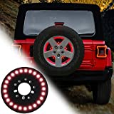 RT-TCZ for Jeep Wrangler Spare Tire Brake Light Rear Tail Light Third 3rd Brake Light for Jeep Wrangler JK JKU JL...