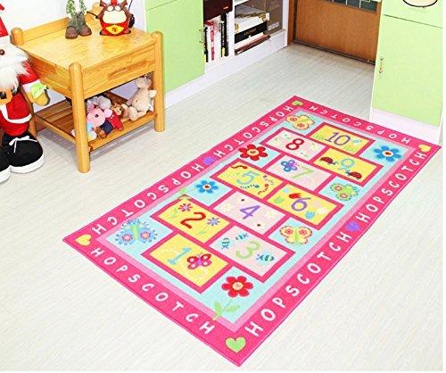 GRENSS Tapete Kinderzimmer Kinder Teppiche und Teppich für Schlafzimmer Alfombra im Wohnzimmer Kinder Spielteppich Mädchen bevorzugten Teppiche Mat verwendet
