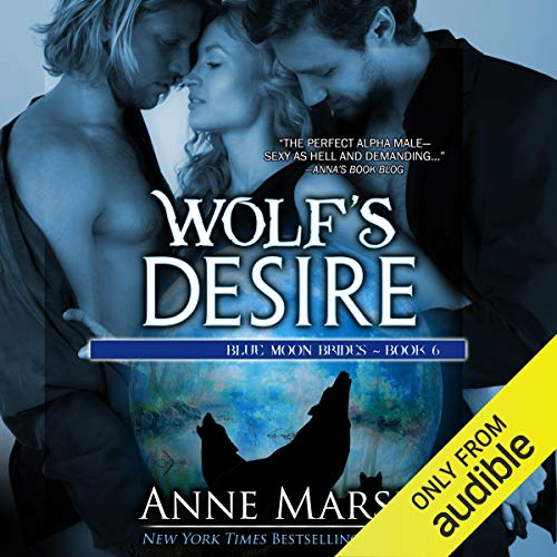 Wolf's Desire audiobook cover art