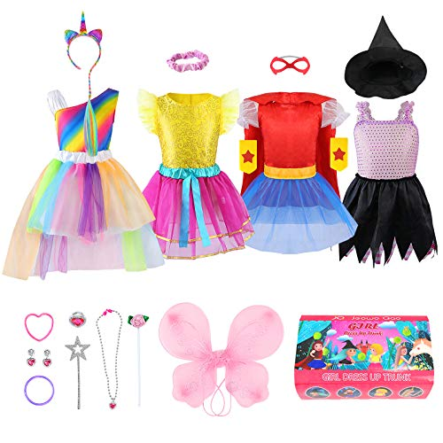 Girls Dress up Trunk Princess Se...