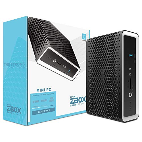 ZOTAC ZBOX CI622 NANO Barebone Intel Core i3-10110U 2XDDR4 SODIMM 2.5p SATA III Bay DUAL 2GLAN WIFI BT DP/HDMI EU + UK PLUG