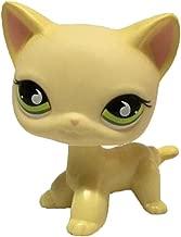 Vibola Pet Shop Action Figure Toys Cartoon Animal Cat Green Eyes Figures Collection