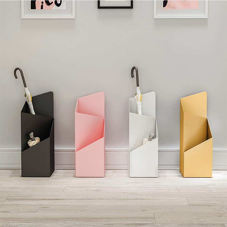 Creative Hollow Umbrella Stand Metal for Hotel Lobby Office Storage Barrel Black