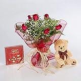 REGALAUNAFLOR-Pack amor completo-FLORES NATURALES-ENTREGA EN 24 HORAS DE MARTES A SABADO .-San valentin-Flores frescas