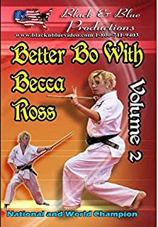Better Bo Staff Becca Ross #2 Extreme Form Techniques DVD martial arts karate