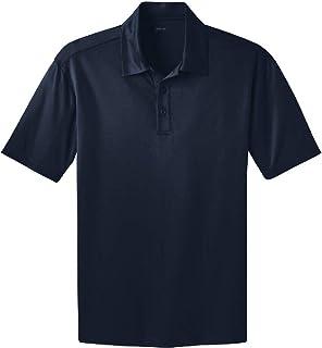 Joe's USA Men's Big & Tall Short Sleeve Moisture Wicking Silk Touch Polo Shirt