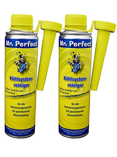 Mr. Perfect® Système de refroidissement produits d'étanchéité-Additiv, Additiv pour Refroidisseur de protection pour voiture - 2 x 250 ml