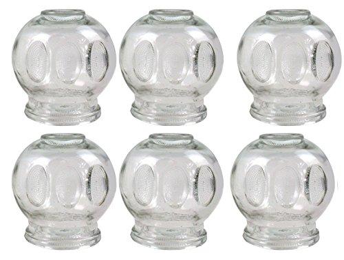 Ventouse en verre XXXl, ø 10 cm, 6 pièces Vacuum Massage Neuf