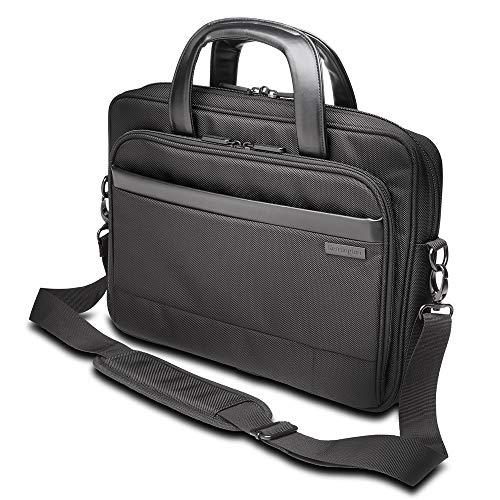 Kensington Executive Contour 2.0 14 inch schoudertas voor laptops en tablets, waterdicht, voor dames en heren, handbagage/reistas (K60388EU)