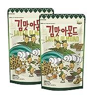 【2個セット】ハニーバター のり味 アーモンド 210gX 2袋 Honey Butter Laver Almond