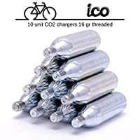 GONFLAGE RAPIDE POUR ÉLIMINER LE PROBLÈME DE LA POMPE ÉTERNELLE: cartouches à gaz CO2 faciles à utiliser pour gonfler, en quelques secondes, les pneus crevés de votre vélo sur la route. PAYEZ POUR LA QUALITÉ, PAS POUR L'ÉTIQUETTE: procurez-vous le pa...