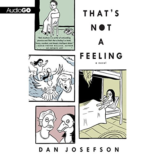 That's Not a Feeling audiobook cover art