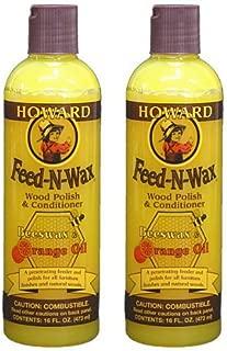 Howard Feed-N-Wax(フィーデンワックス)×2本セット (16oz./473ml×2本=946ml)