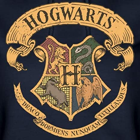 Harry Potter Hogwarts Wappen Frauen Hoodie