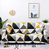 Funda elástica de celosía para sofá de sala de estar, sofá, silla, funda elástica para sofá, decoración de sala de estar, sofá A22, 1 plaza.