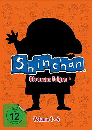 Shin chan - Die neuen Folgen, Volume 1-4 [Alemania] [DVD]