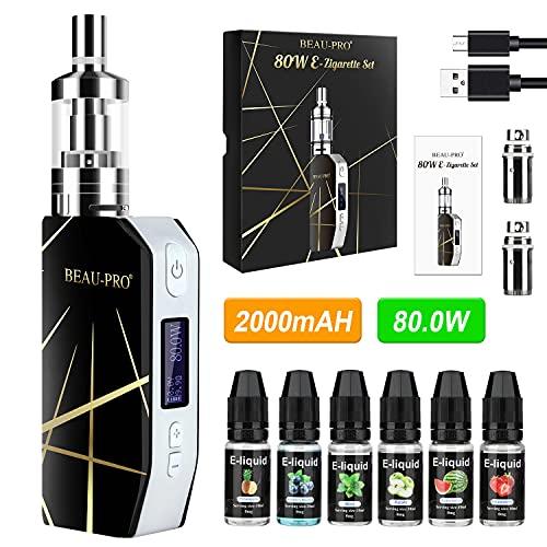 Cigarrillo Electronico de Vapor sin Nicotina Vaper Kit Cigarro Electronico Vaporizador kit...
