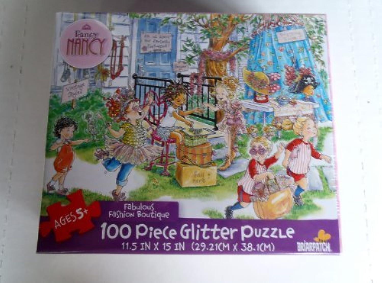 Envío 100% gratuito Fancy Nancy Fabulous Fashion Boutique 100 100 100 Piece Glitter Puzzle MADE IN USA by Briarpatch  estilo clásico